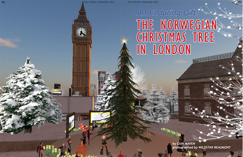 Prim Perfect: Issue 38- December 2011: The Norwegian Christmas Tree in London