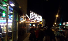 Long line for A Christmas Story at Riverview!