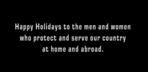 NCIS Christmas greeting
