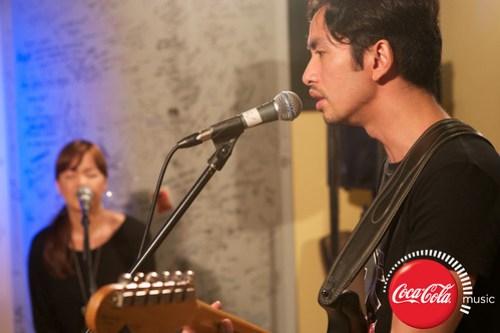 Rico Blanco and Amber Davis at Coke Music Studio - 14
