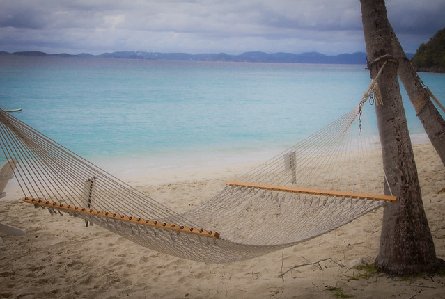 Dreamy Hammock In The Virgin Islands