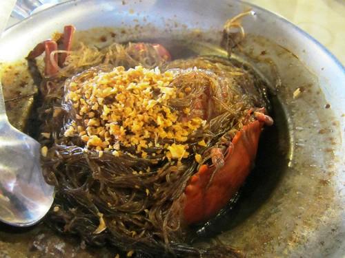 Crab glass noodles