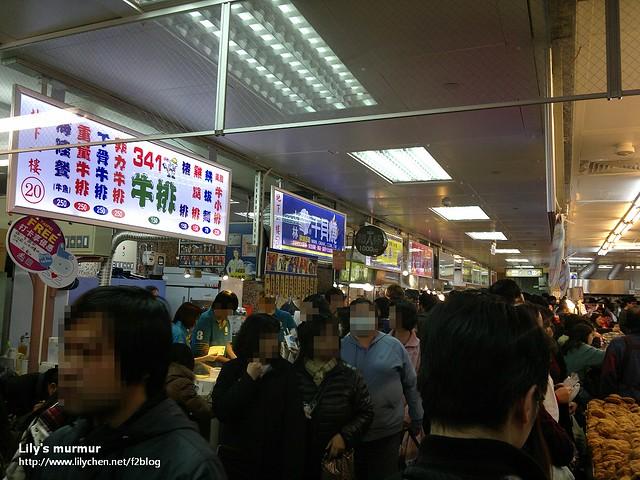 再一張走道的樣子,我沒辦法喜歡這個樣子的...夜市或者是美食街。