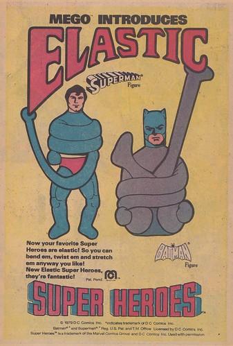 Mego Elastic Heroes