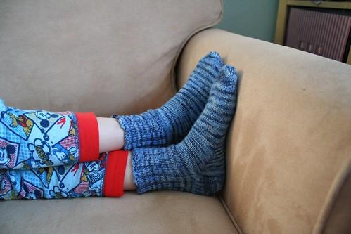 knitted :: socks