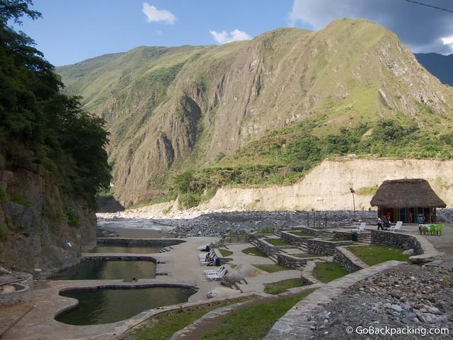 The hot springs near Santa Teresa