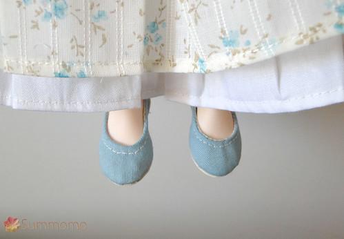 Nuevo vestido y nuevos zapatos