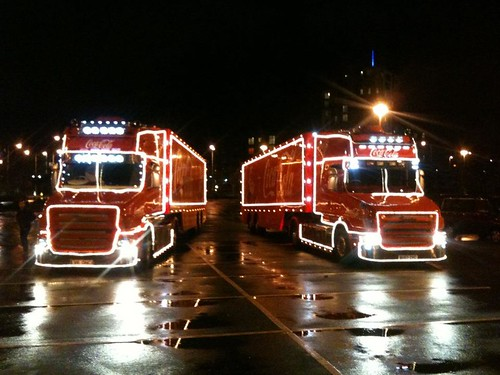 Coca Cola Trucks by Will Pringle