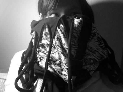 Hellz scarf.
