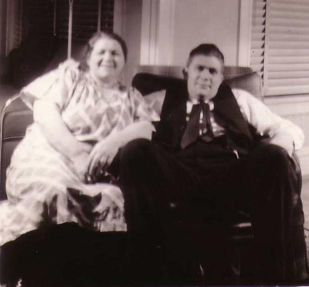 Sid with his mom,Blanche_Wyman