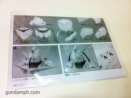 Banpresto Gundam Unicorn Head Display  Unboxing  Review (16)