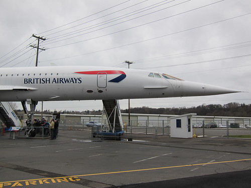 concorde nose and profile