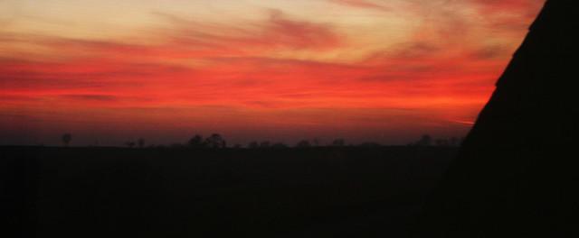 sunset at monroe