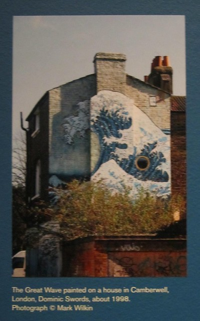 The Great Wave, painted on a house in Camberwell