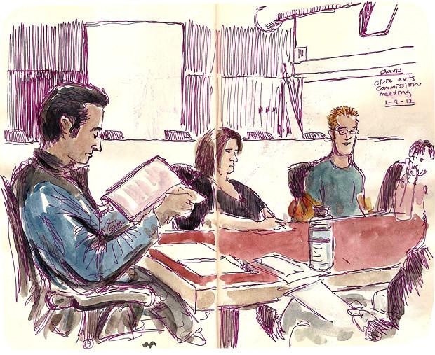 Davis Civic Arts Commission Meeting