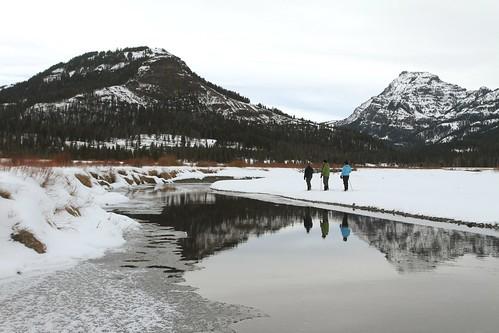 Snowshoeing at Round Prairie