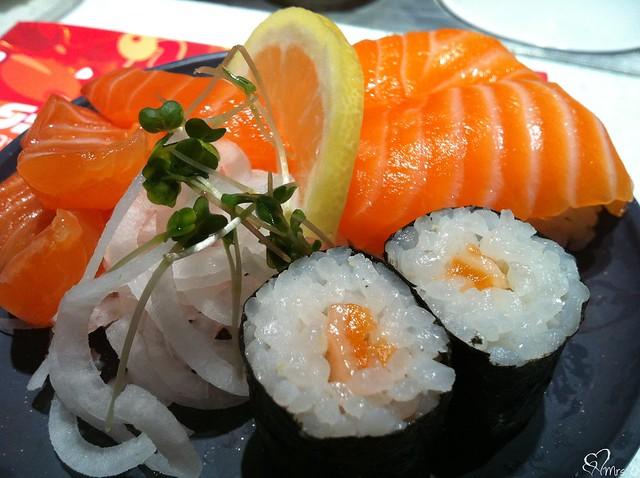 Salmon Maki, Nigiri & Sashimi