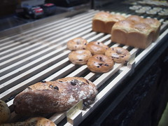 Remnant breads and bagels, Baker & Cook, Hillview Avenue, Greenwood