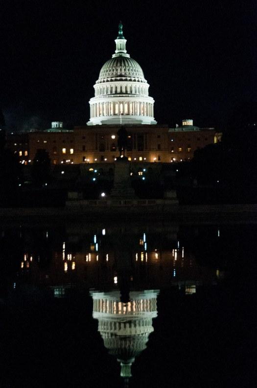 Congresso degli Stati Uniti d'America by night