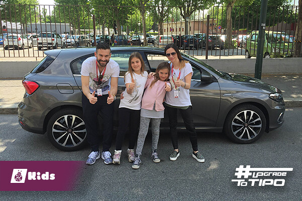 team kids per upgradetotipo Fiat Tipo 5 porte