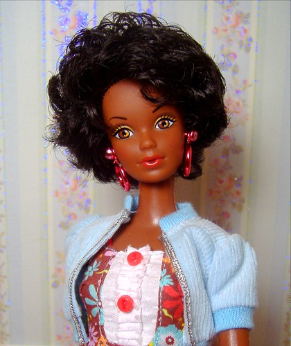 "1980 ""Black Barbie"" repro Steffie in SiS #2"