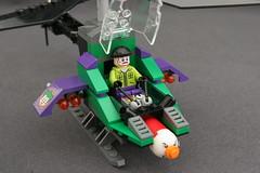 6863 Batwing Battle Over Gotham City - Joker's Helicopter 8