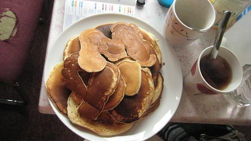 Homemade pancakes!