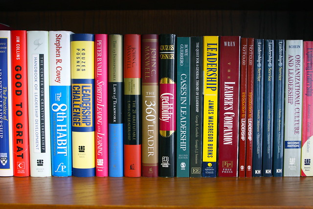 Leadership Bookshelf