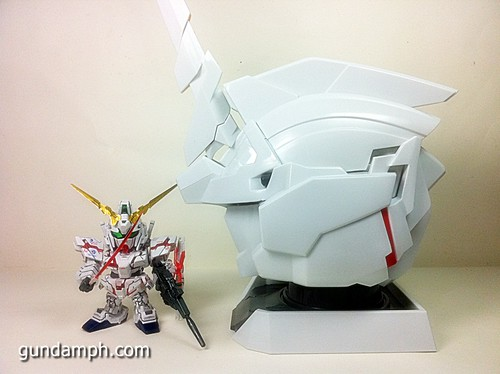 Banpresto Gundam Unicorn Head Display  Unboxing  Review (52)