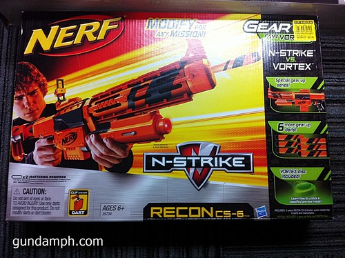 NERF Sale 50% Off Stampede Raider Recon Unboxing Review (71)