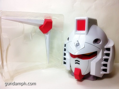 BIG RX-78-2 Gundam Head Coin Bank 30th Anniversary Edition 7-11 (16)