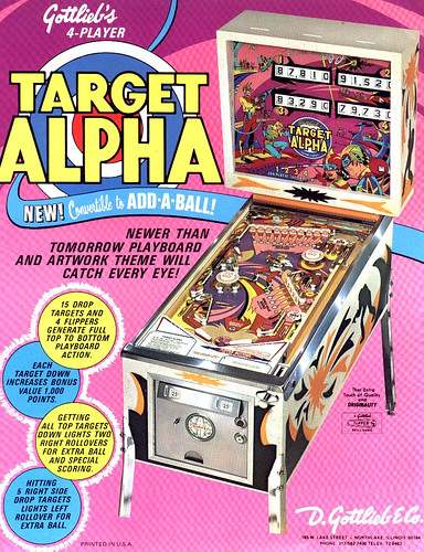 Target Alpha Flyer by Particle Man