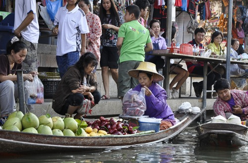 Floating market - Bangkok (55 of 66)