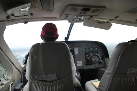 Travelling by plane to San Pedro, Belize