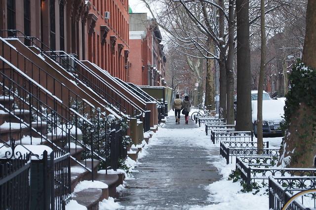 View of Adelphi Street in Brooklyn