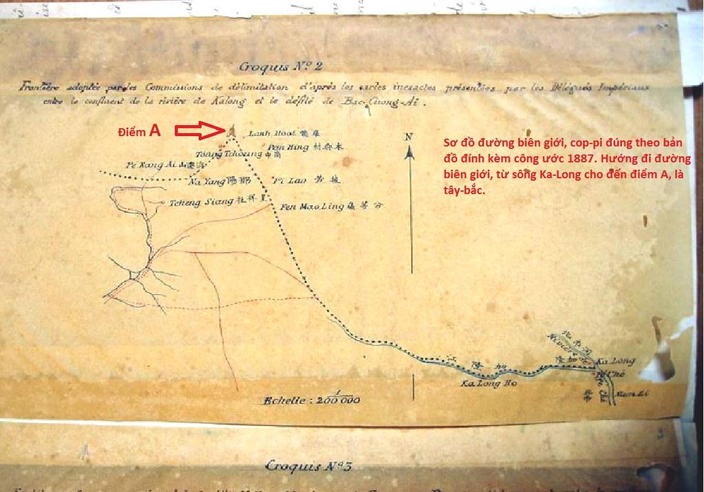 sơ đồ hướng đi biên giới 1887
