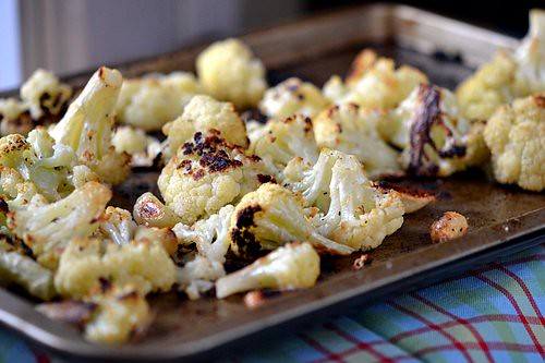 Garlic-Roasted Cauliflower 2