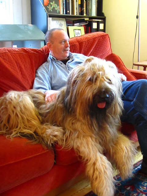 Artie and Dad at Easter