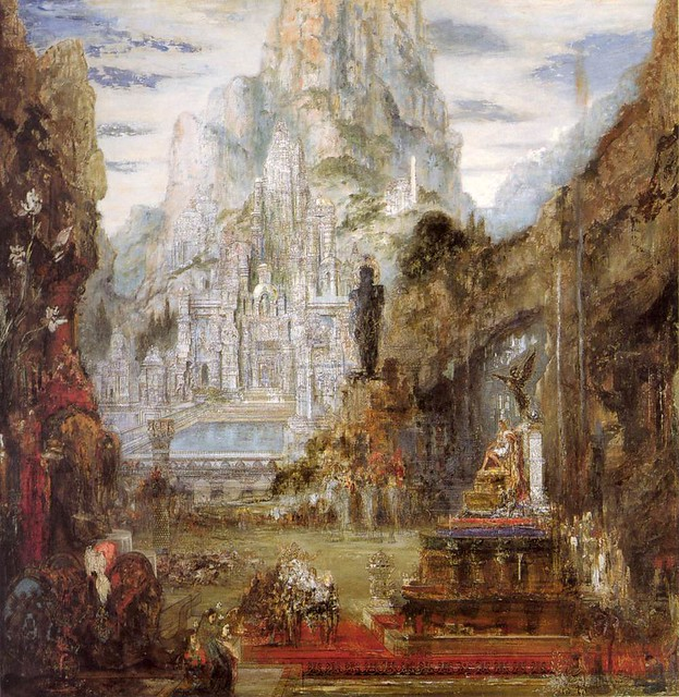 Gustave Moreau, The Triumph of Alexander the Great, 1890.