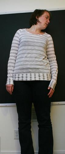 Striped TShirt.