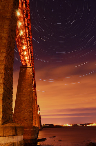 Forth Bridge Star Trail - Explored