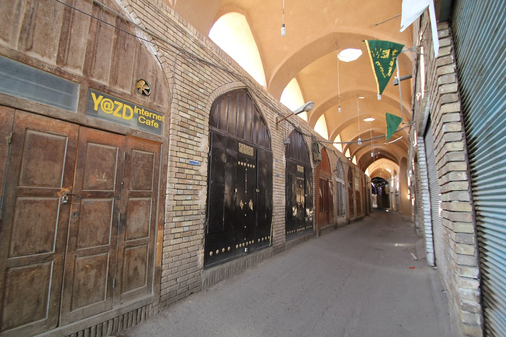Bazaar on a Friday in Yazd