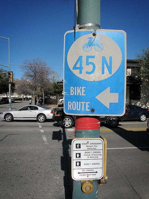 45 N Bike Route