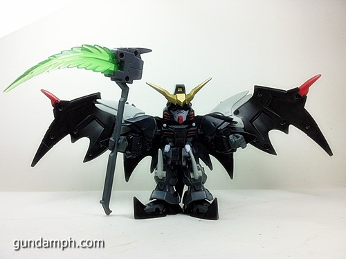 SD Gundam Online Deathscythe Hell Custom Toy Figure Unboxing Review (21)