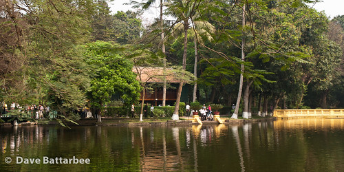 Ho Chi Minh's House and Lake