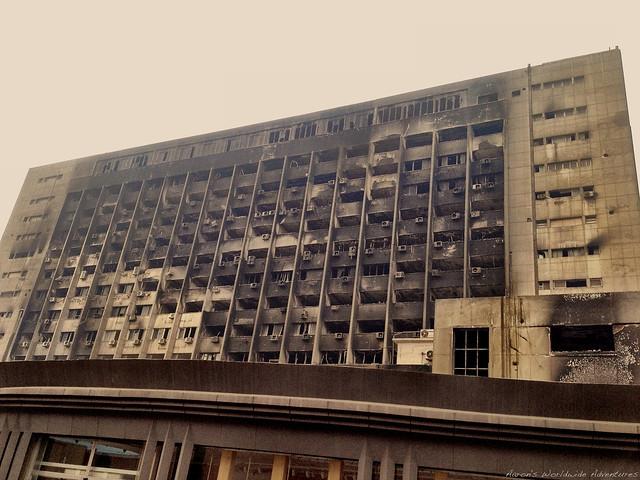 Mubarak's Former Party Headquarters