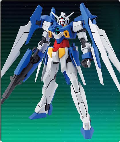 HG 144 Gundam AGE-2 Normal Model Kit Photos (3)