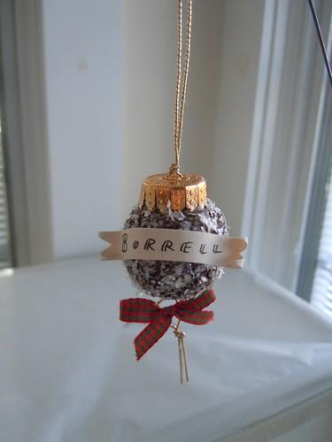 Scotch Egg Christmas Ornament
