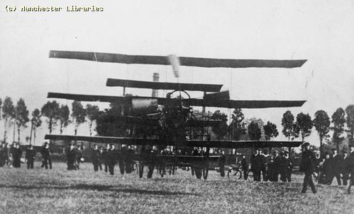 Roe I Triplane, 1908