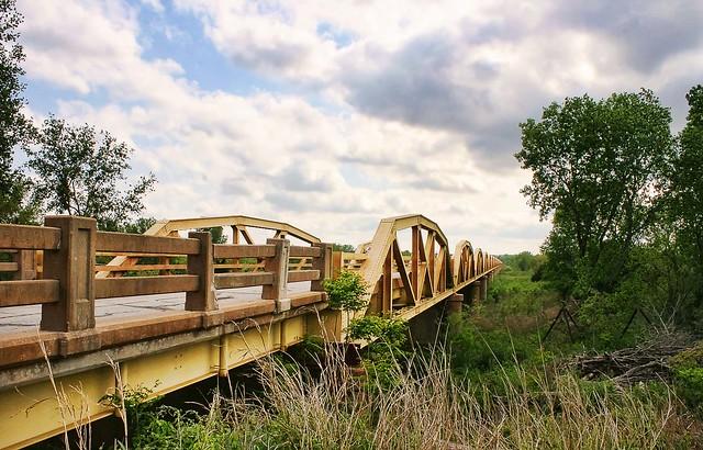 Pony Bridge, Route 66, Oklahoma